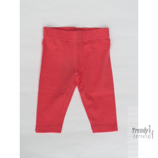 Kids-up leggings i koral farvet i bomuld.-30