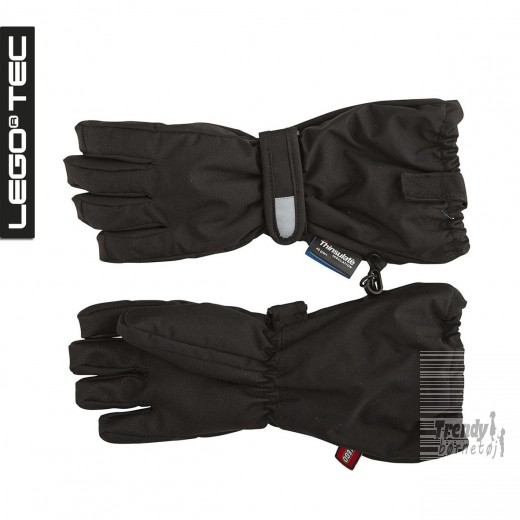 finger vanter i sort fra Lego AVA 611 GLOVES item 14832-3