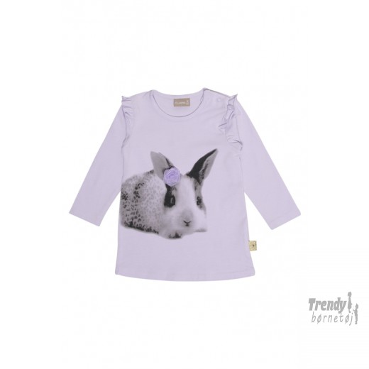 Claire bluse med kanin-3