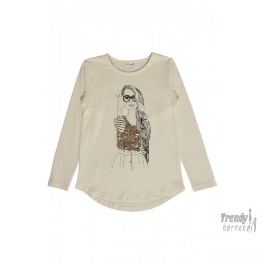 CLAIRE KIDST-SHIRT MED PRINT-30