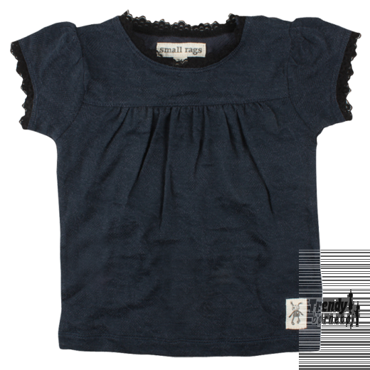 Small rags navy t-shirt-3