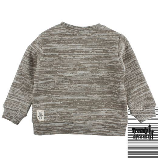 small rags sweat shirt i grå med logo-3