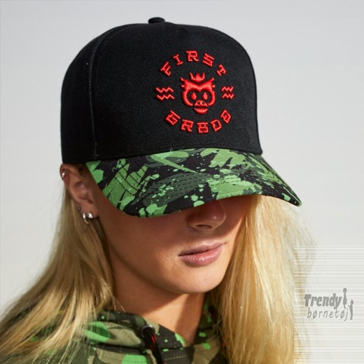 Firstgrade Cap Army Monkey god snapback !-33