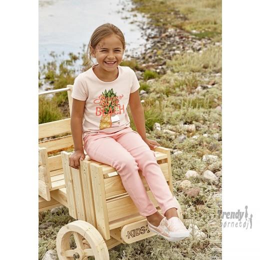 Kidsuptshirtiferskenfarvetmedenananas-3