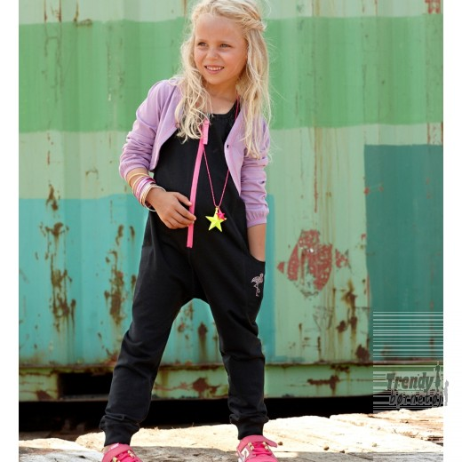 kids up lyserød jumpsuit str 6 år-31