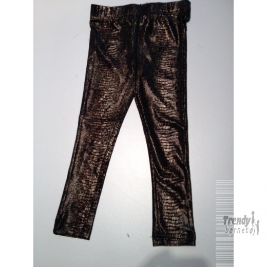 kids-up Leggings med slangemønster i guld item 710528-3