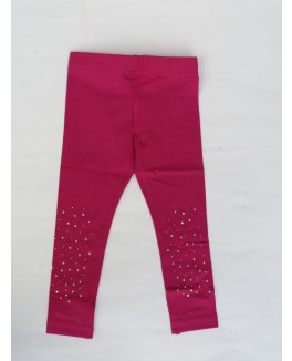 Kids-up leggings i fuchsia farvet-20