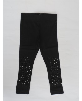 Kids-up basis leggings med sten på benene-20