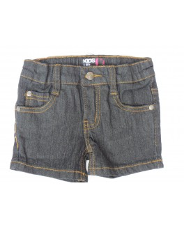 Kids-up denim shorts i mørkeblå-20
