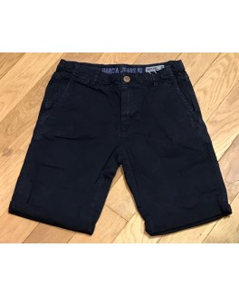 Garcia short i marineblå regular fit med justerbar talje-20