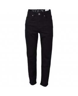 Hound  regular Jeans med vide ben i stretch denim med 5 lommer.-20