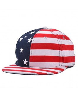 Cap med usa all over print-20