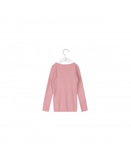 Noa Noa basic Doria t-shirt long sleeve Blush-20