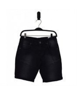 Hound shorts i sort demin-20