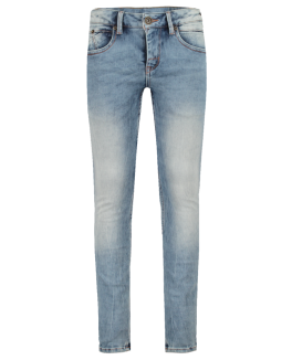 Garcia Jeans slim fit i ligt Blue-20