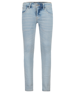 Garcia Jeans slim fit i bleach blå-20