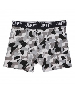 Jeff bokse short i lys army print-20