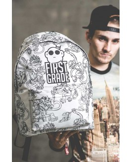 Firstgrade backpacks, i hvid-20