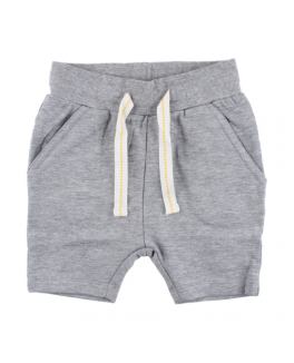 Small rags shorts i grå med bindebånd-20