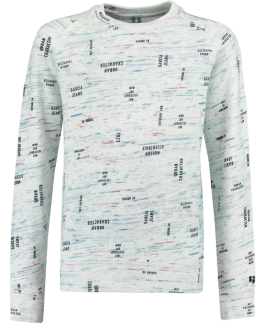 Garcia sweatshirt med all over print-20