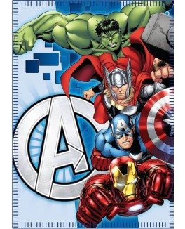 Avengers fleece blanket 100*140 cm-20
