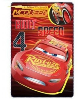 CARS FLEECE BLANKET 100*150 CM-20