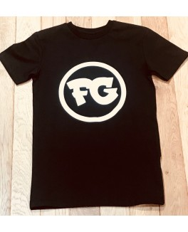 Firstgrade t-shirt i sort med FG logo-20