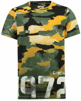 Garcia t-shirt i army look-20