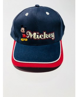 cap i blå med Mickey mouse design-20