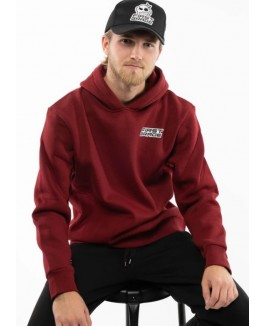 FIRSTGRADE ORIGINALS HOODIE BORDEAUX RØD-20
