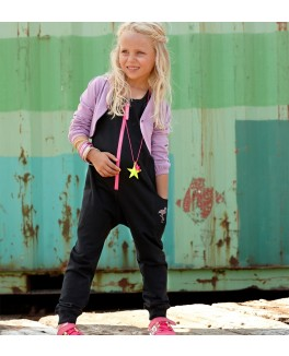 kids up lyserød jumpsuit str 6 år-20