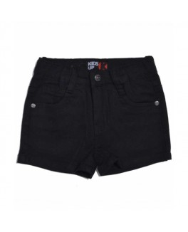 Kids-up denim shorts i sort-20