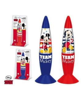 MICKEY MOUSE  GLITTER LAMPE-20