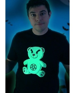 Firstgrade NIKI TOPGAARD / GLOW BEAR SORT T-SHIRT-20