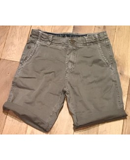 Garcia short i sand regular fit med justerbar talje-20