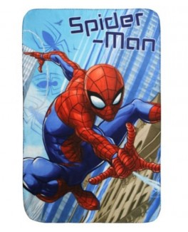 Spiderman fleece tæppe 100* 150 cm-20
