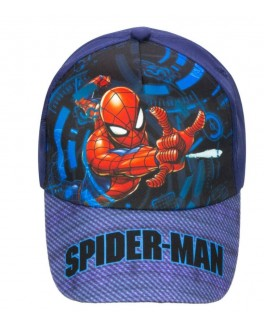 Spiderman cap i mørkeblå-20