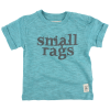 Smallrags t-shirt i blåmeleret 60266-00