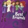 LEGO Friends pige t-shirt med de 5 best friends-06
