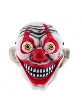 Klovne maske med store øjene